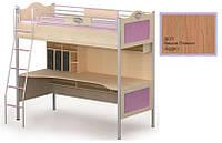 Кровать+стол An-16-1 Angel вишня