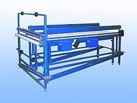 Полуавтоматическая  линия для упаковки межкомнатных дверей, столешниц в ПЭ пленку, технологии, технические реш