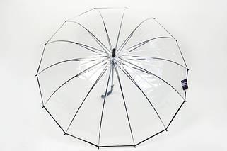 Зонт прозрачный большой