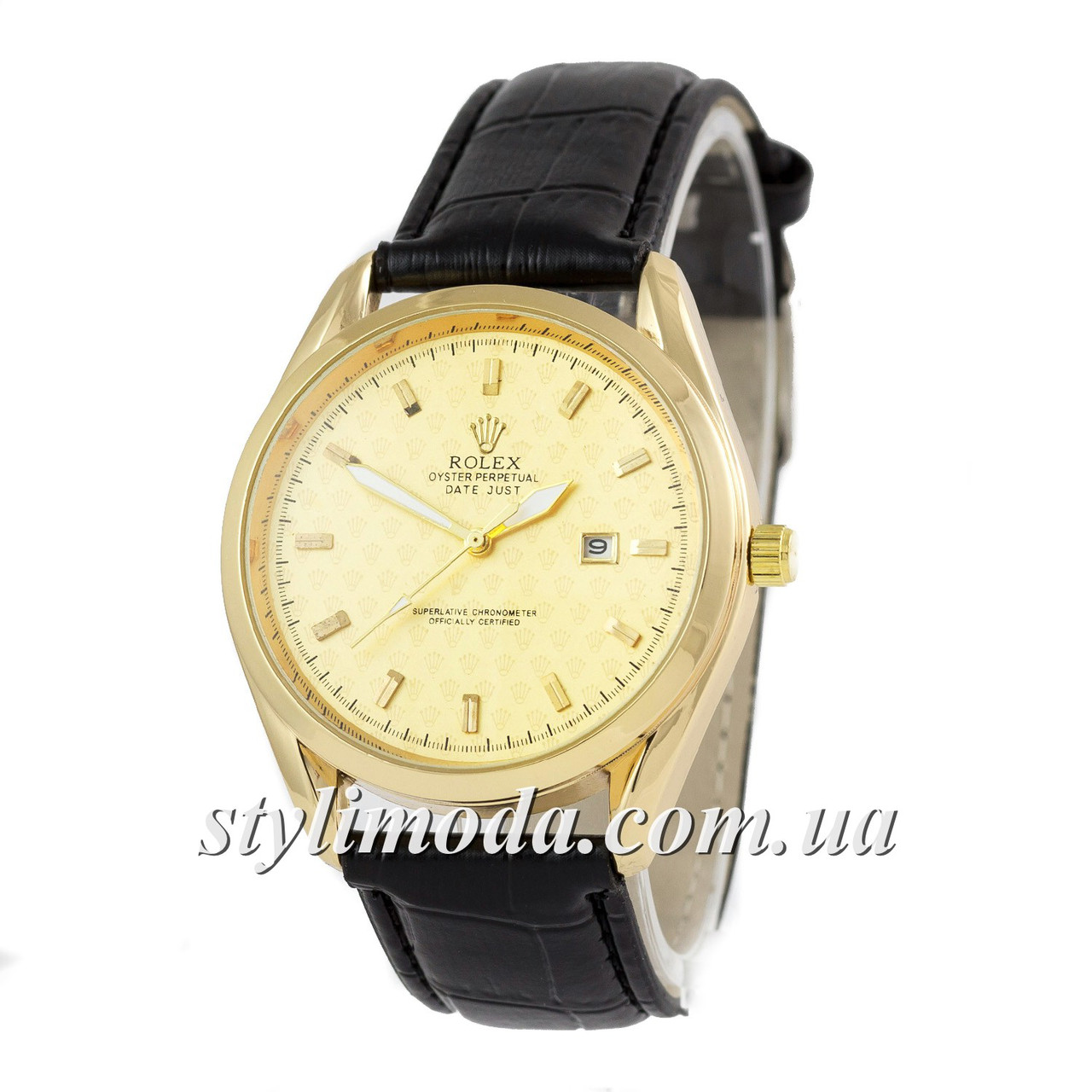 315c7dfe478b Часы наручные Rolex Quartz B63 Black-Gold-Gold (реплика)  продажа ...