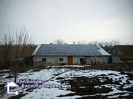 Сонячна електростанція 17 кВт у м. Теребовля