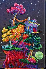 Набор для вышивки бисером Мечты под звёздами (25 х 38 см) Абрис Арт AB-606