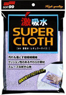Салфетка Soft99 04207 MicroFiber Cloth — микрофибровая ветошь, фото 2
