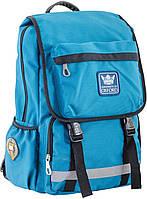 Стильный рюкзак подростковый OX 228, бирюзовый