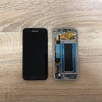 Дисплей на Samsung G935 Galaxy S7 Edge Чёрный(Black),GH97-18533A, Super AMOLED!