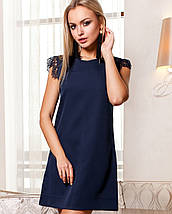Женское платье с короткими кружевными рукавами (Закираjd), фото 3