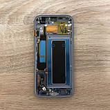 Дисплей на Samsung G935 Galaxy S7 Edge Золото(Gold),GH97-18533C, Super AMOLED!, фото 2
