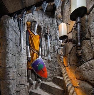 Домашний кинозал по мотивам саги «Игра престолов» в Нашвилле (штат Теннесси, США)
