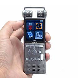 Профессиональный цифровой диктофон Savetek Y828 (GS-R06), 8 Гб.
