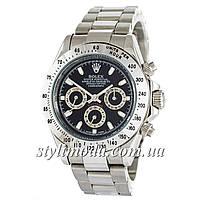 Часы наручные Rolex Daytona AA+ механические Silver-Black (реплика)