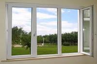 Трёхстворчатое окно в профиле OPEN TECK standart