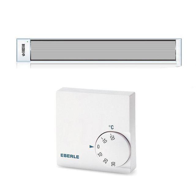 Потолочный инфракрасный обогреватель с терморегулятором EKOSTAR   E800 Мощность 800 Вт. до 16 м.кв белый