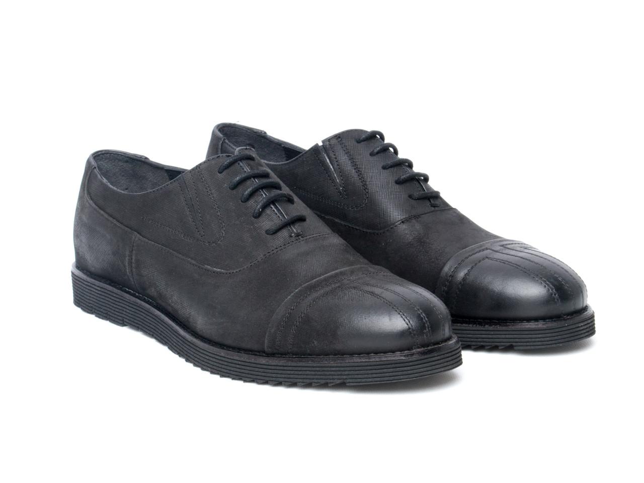 Оксфорды Etor 13863-6615-175-013 черные
