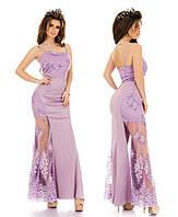 Вечернее платье в пол 7229 ел, фото 1