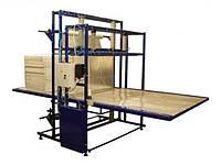Автомат для упаковки стоп плит пенопласта в ПЭ пленку, технологии, технические решения; производство оборудова