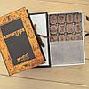 """Подарочный набор конфет """"Камасутра коричневая"""" с фундуком, элитное сырье. Размер: 190х131х36мм, вес 280г"""