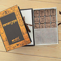 "Набор конфет ""Камасутра"" с фундуком, коричневая, классическое сырье. Размер: 190х131х36мм, вес 280г, фото 1"