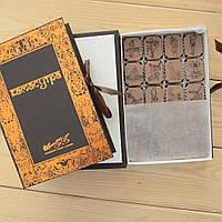 """Подарочный набор конфет """"Камасутра коричневая"""" с фундуком, элитное сырье. Размер: 190х131х36мм, вес 280г, фото 1"""