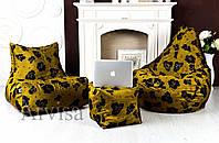 Кресло мешок груша пуф (набор)