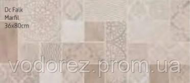 Плитка для стен NAVARTI DEC. FALK MARFIL 36x80