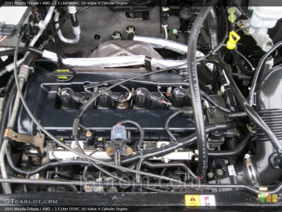Мотор (Двигатель) Mazda Tribute 2.3 16V 5KM42750GZ 2006г.в.