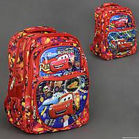 Рюкзак детский школьный Тачки