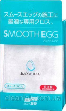 Микрофибра Soft99 00514 Smooth Egg Smooth Cloth — для ухода за авто покрытых кварцевыми составами, фото 2