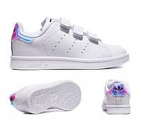 Кроссовки Adidas Stan Smith Hologram Velcro, фото 1