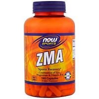 Now Foods, Спортивное питание, Комплекс ZMA, Восстановление после физических упражнений, 180 капсул