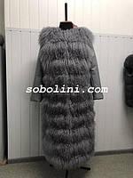 Отзыв от клиентки Соболини,  жилет-трансформер  из ламы , фото 1
