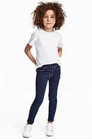 Леггинсы джинсовые H&M для девочки р.110