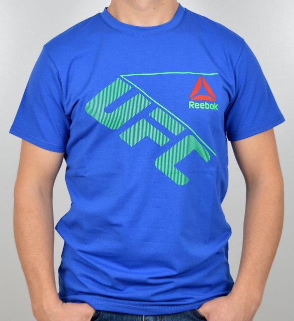 Спортивная мужская футболка реплика Reebok