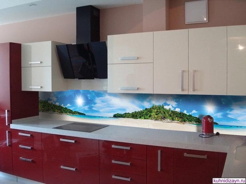 Кухонный фартук Релакс, (кухонные фартуки для кухни на стену фотопечать, скинали, природа, пейзаж)