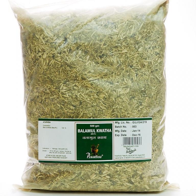 Баламул кватха, Бала (Сида сердцелистная), нервная, респираторная и пищеварительная система, 500 гр