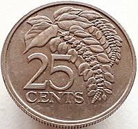 Тринидад и Тобаго 25 центов 1977