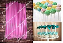 Палички для кейк-попсов Рожеві, 50шт