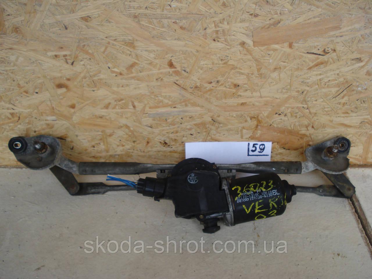 85110-0F020 Механизм моторчик переднего стеклоочистителя  Toyota Verso (2009- 201...)85110-13100