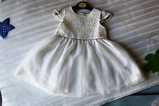 Нарядное кружевное платье для девочки (фатин)