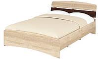 Кровать полуторная 140 Милана. Мебель для спальни.