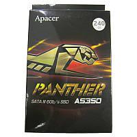 "Жесткий диск Apacer PANTHER SSD  240Gb;2.5"";SATAIII TLC(AP240GAS350-1)"