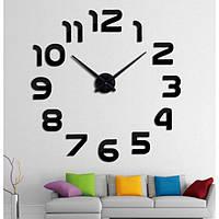 """Часы большие настенные 3D """"DIY"""" ZH015 (Ø от 80 до 150 см)"""