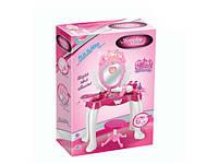 Детский столик трюмо для макияжа lm669-011 с стульчиком