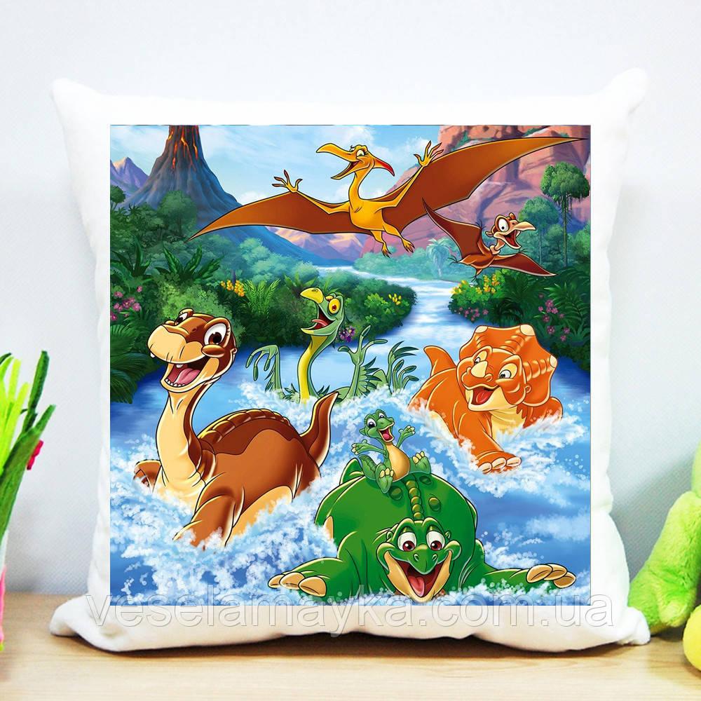 Декоративная подушка Динозавр 2