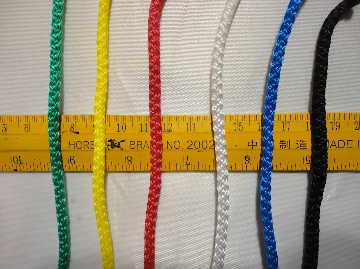 Сетка для мячей для переноски до 5 мячей. Шнур D. 4,5мм. Элит (5), фото 2