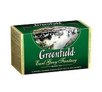 Чай Гринфилд Earl Grey Fantasy 25пак / с ароматом бергамота