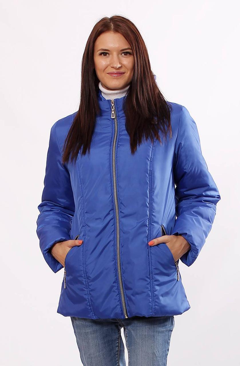 Приталенная короткая куртка, размеры 40-72