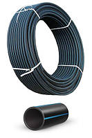 Трубы полиэтиленовые напорные для воды из материала ПЕ-100 SDR17/32