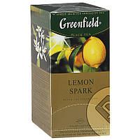 Чай Гринфилд Lemon Spark 25пак / с лимоном