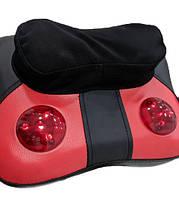 ТОП ЦЕНА! Вибромассажная подушка, массажер шиацу купить, подушка массажер, подушка для спины, подушка с подогревом, массажная подушка в автомобиль