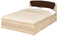 Кровать полуторная 140+1 Милана. Мебель для спальни.